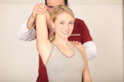 frattura,clavicola,test,fisioterapia,esercizio,rotazione,esterna,dolor