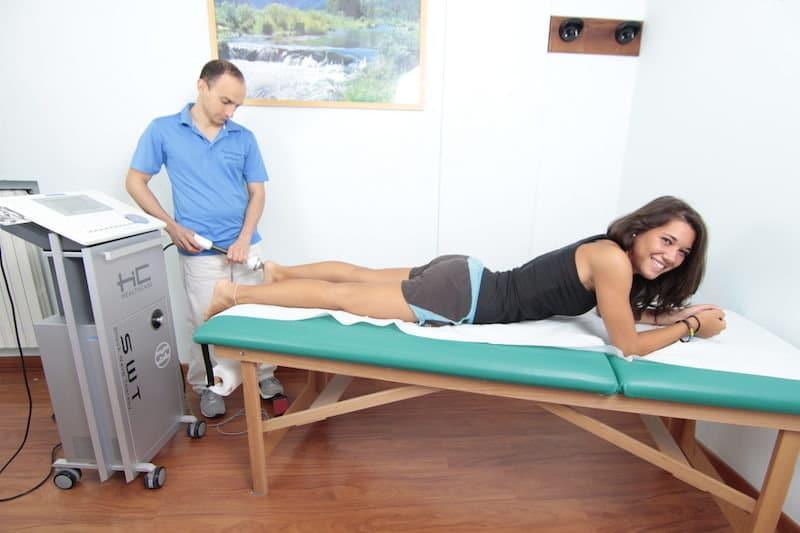 Onde d'urto,sperone calcaneare,terapia