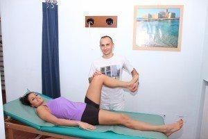 rotazione interna dell'anca, test per l'artrosi, articolazione, femore
