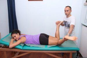 test muscolo piriforme, bacino, dolore, infiammazione, male, blocco, limitazione, scrocchio, piegamento, flessione, medio gluteo, allungamento, contrazione, esercizio, valutazione, prova, stretching