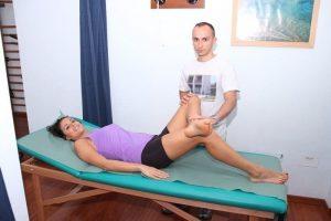 Test di Faber, muscolo piriforme, rotatori, anca, sacro