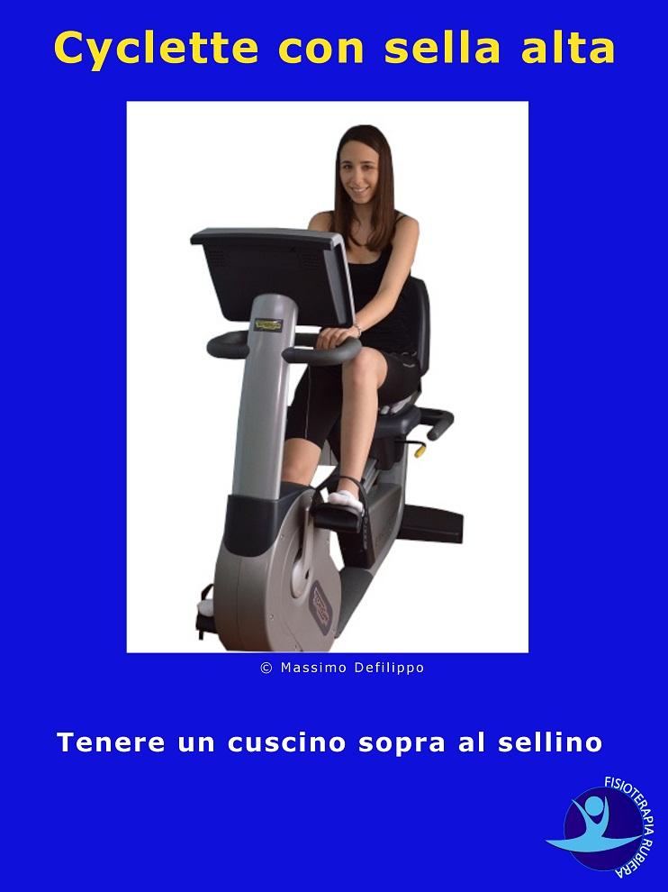 Cyclette-con-sella-alta