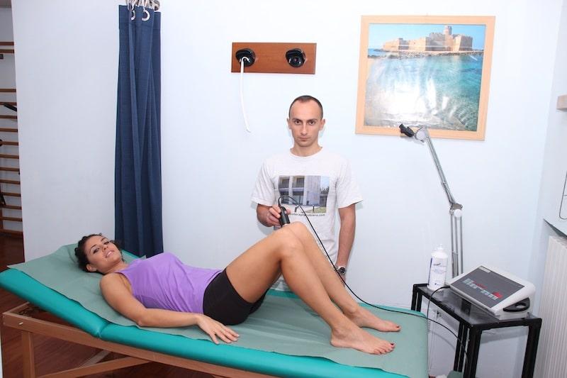 Terapia per la tendinite del ginocchio