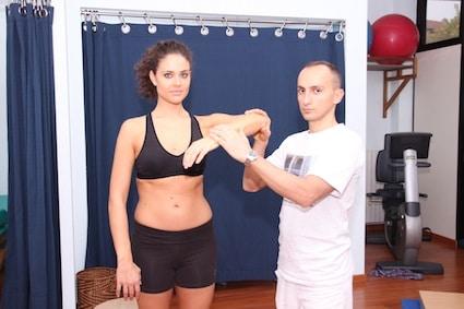 Riabilitazione per una frattura della spalla