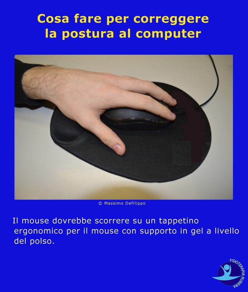 Cosa fare per correggere la postura al computer