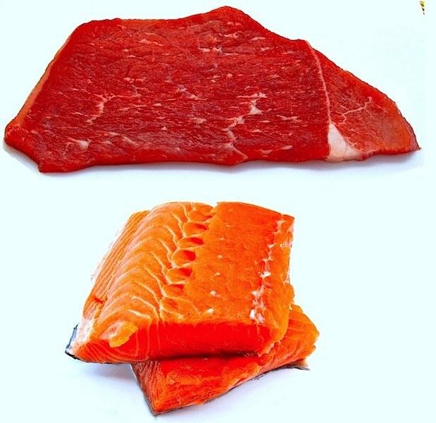 carne,pesce,alimentazione,gotta