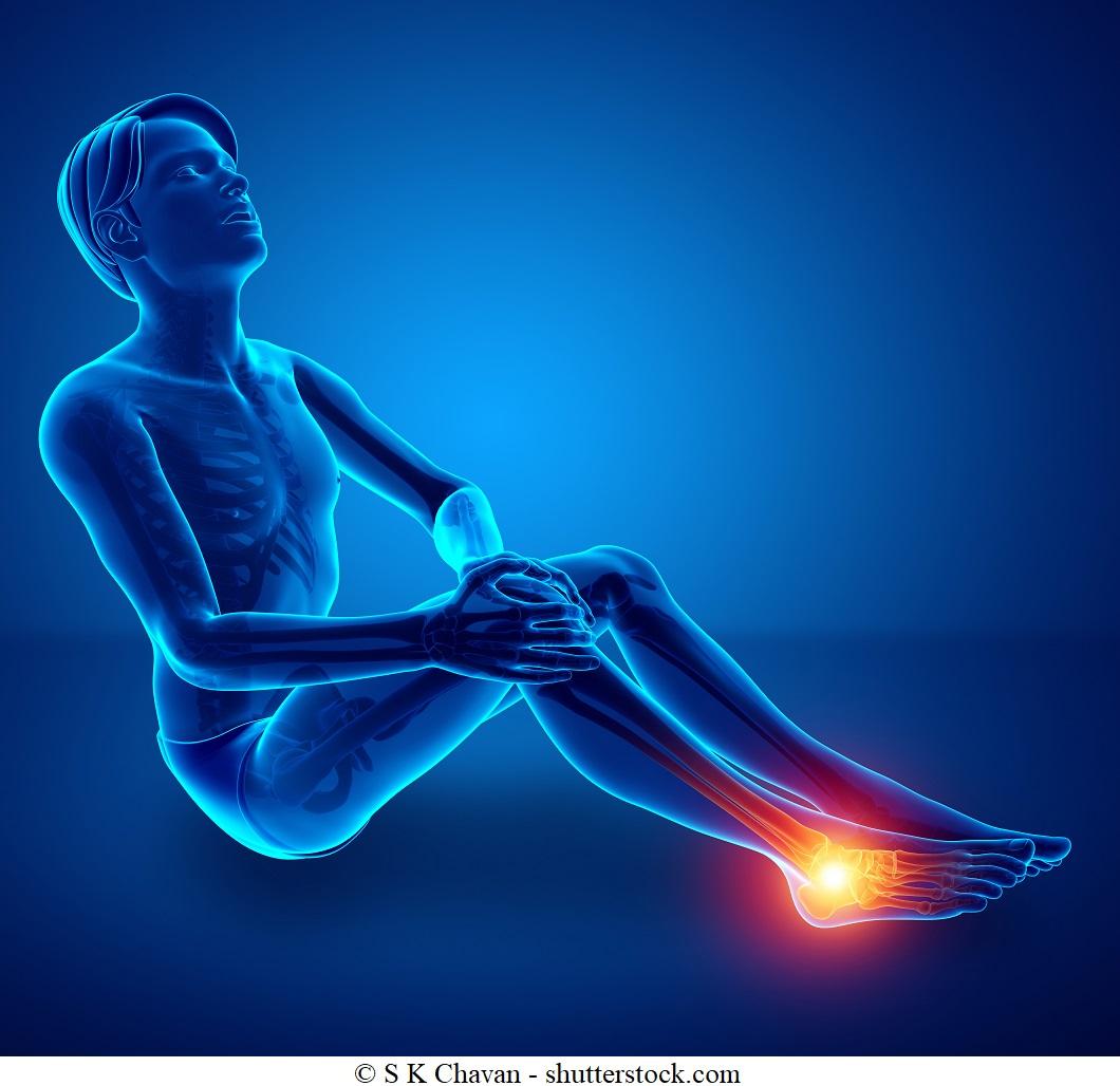 Dolore alla caviglia esterno o interno