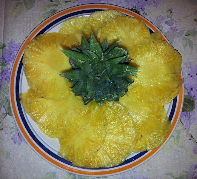 ananas,frutta,vitamine,alimentazione,dieta