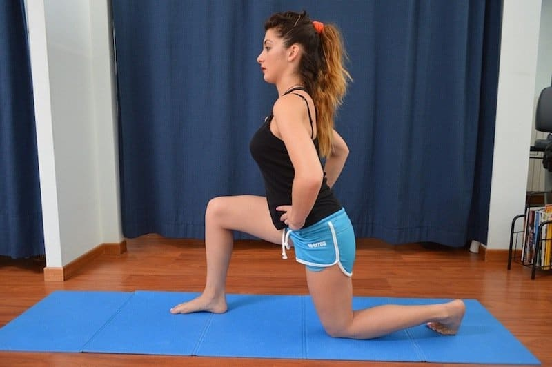 stretching,psoas,dolore,flessori,anca,schiena