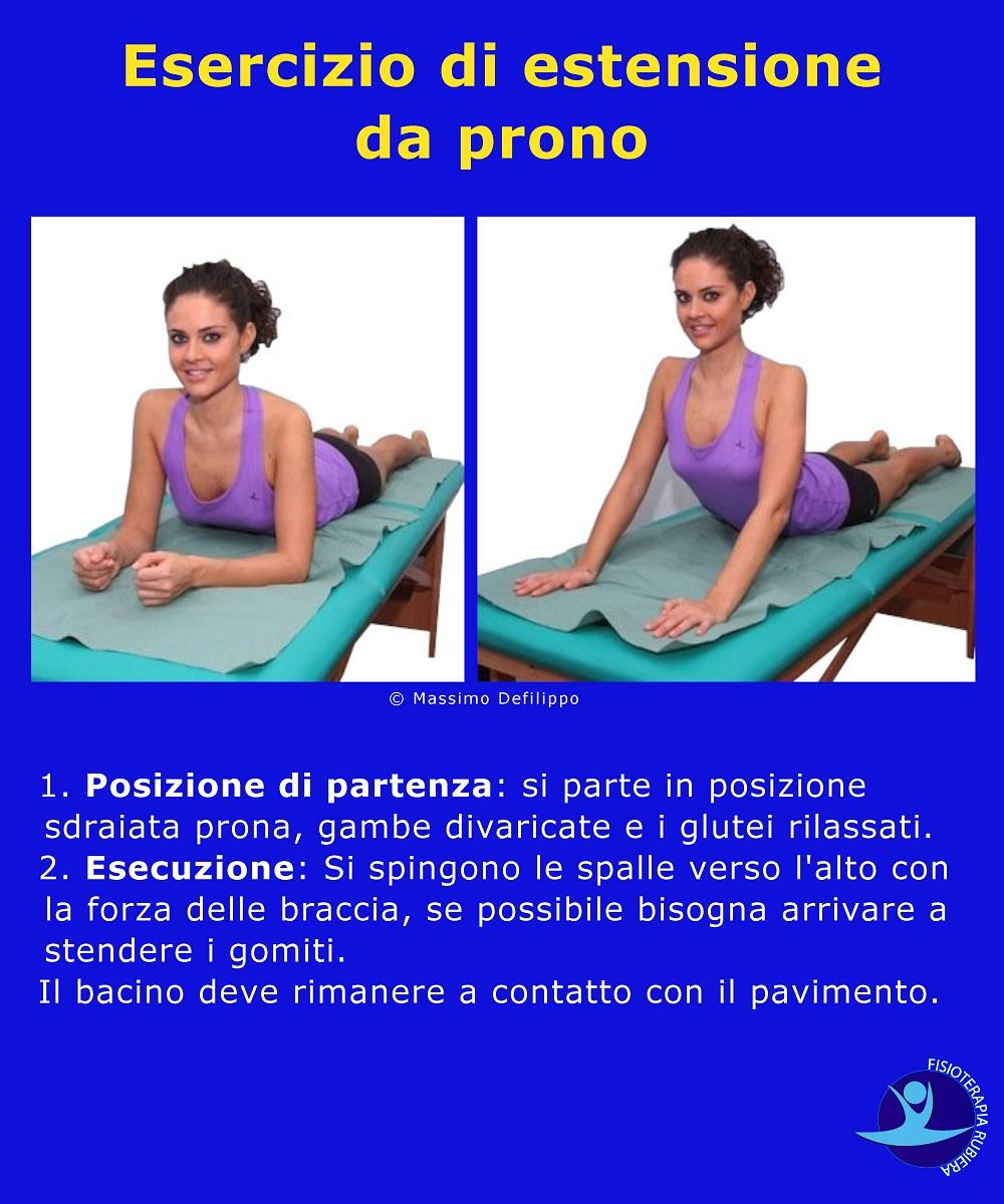 Esercizi per il mal di schiena lombare, a casa o in..