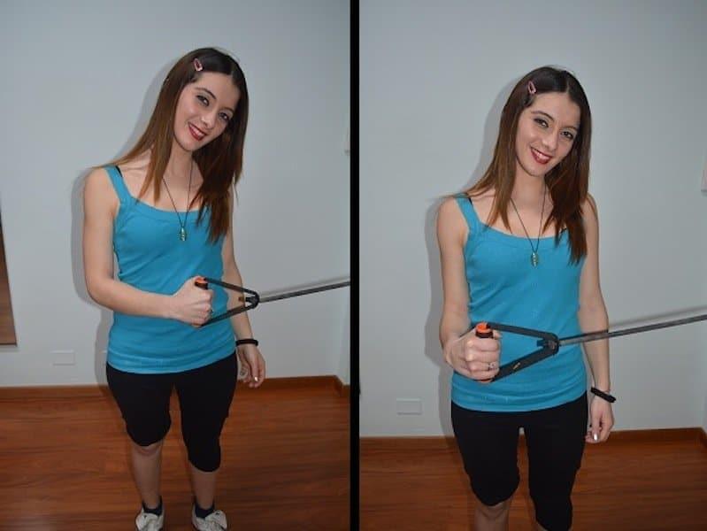 esercizio,spalla,rotazione,esterna,rotatori,cuffia,sovraspinoso,sottospinoso