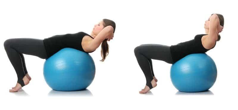 Esercizio,addominali,schiena,dolore,rinforzo,rafforzamento,fisioterapia