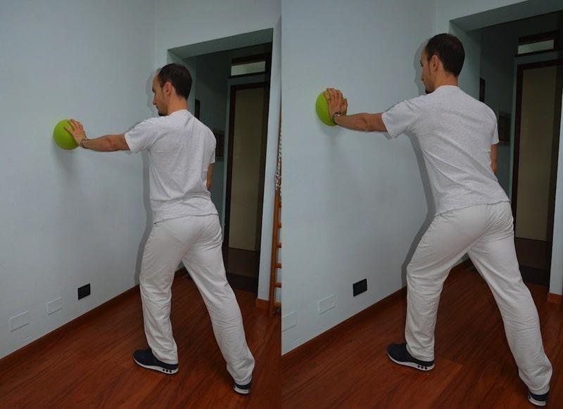 Esercizi per la spalla