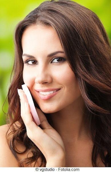 Che pulire una faccia alla pelle combinata
