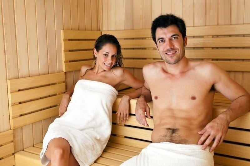 Sauna,bagno turco,terapia,catarro,vapore
