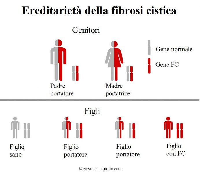 Fibrosi-cistica-ereditarietà
