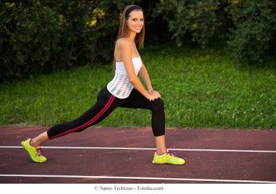 Esercizi anticellulite,squat,affondi
