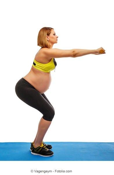 Squat,gravidanza