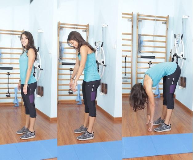 Roll down,esercizio,pilates,semplice