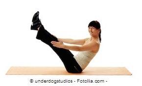 TEASER,posizione finale,addominali pilates