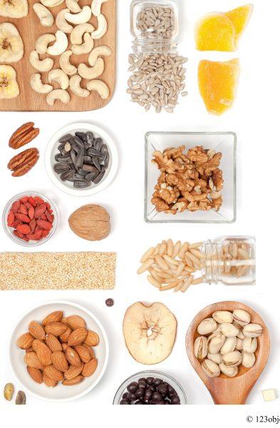 Noci,semi,pinoli,frutta secca,semi
