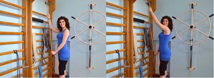Riabilitazione post intervento alla cuffia dei rotatori