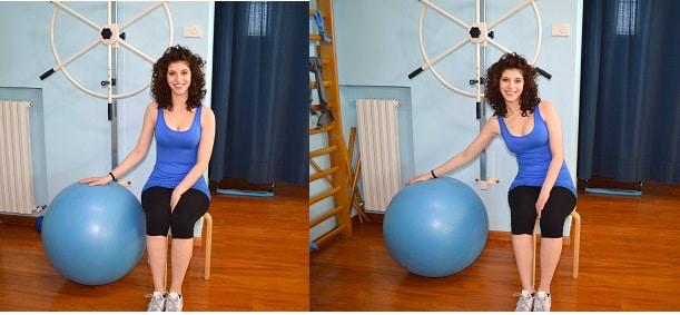 abduzione,spalla,fitball