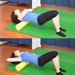 Foam roller,dorso,dorsale,scapole,spalle