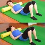 Foam roller,muscoli collo