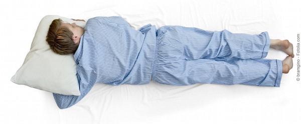 Dormire prono,pancia in giù