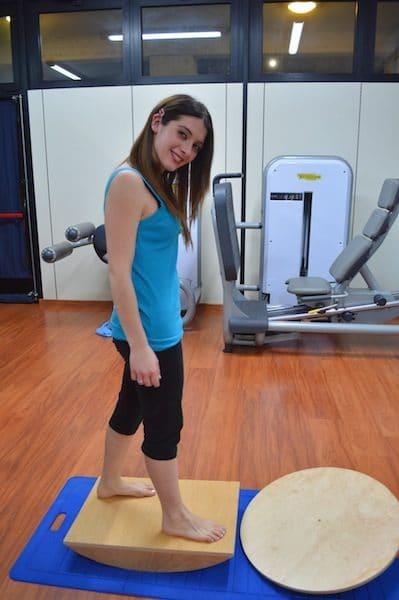 Esercizi di rieducazione propriocettiva