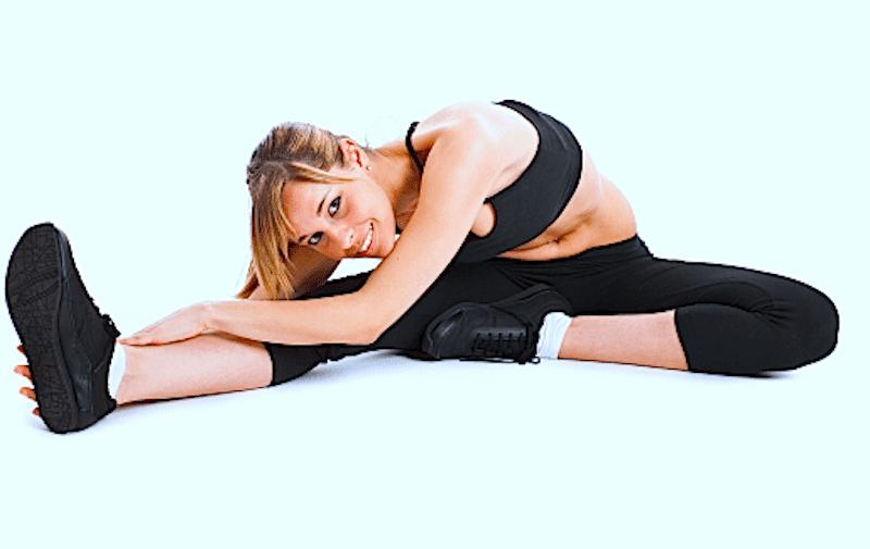 stretching,flessori,ginocchio,bicipite femorale,coscia,posteriore