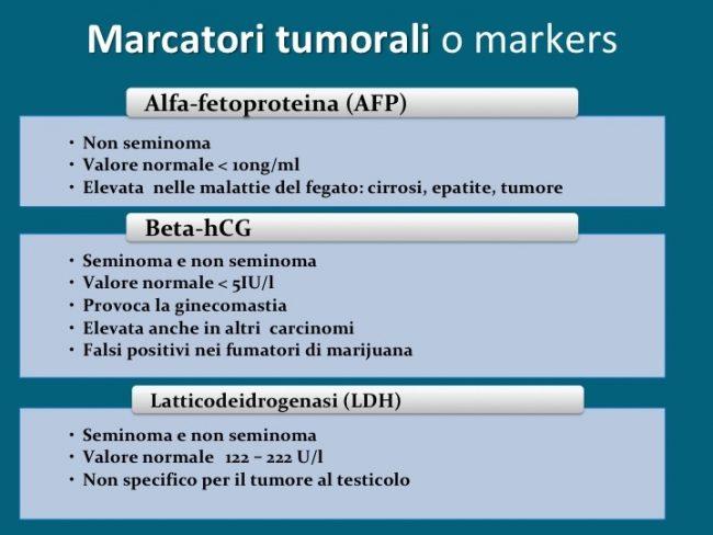 marcatori tumorali, markers, tumore al testicolo