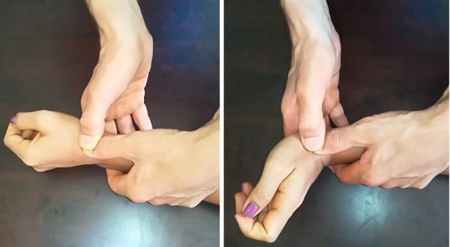 manipolazione del polso,estensione,mulligan