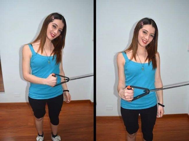 ROTAZIONE ESTERNA spalla,esercizio