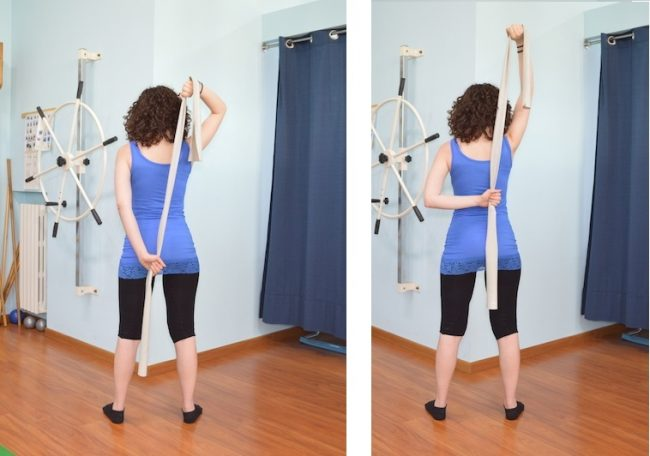 esercizio rotazione interna