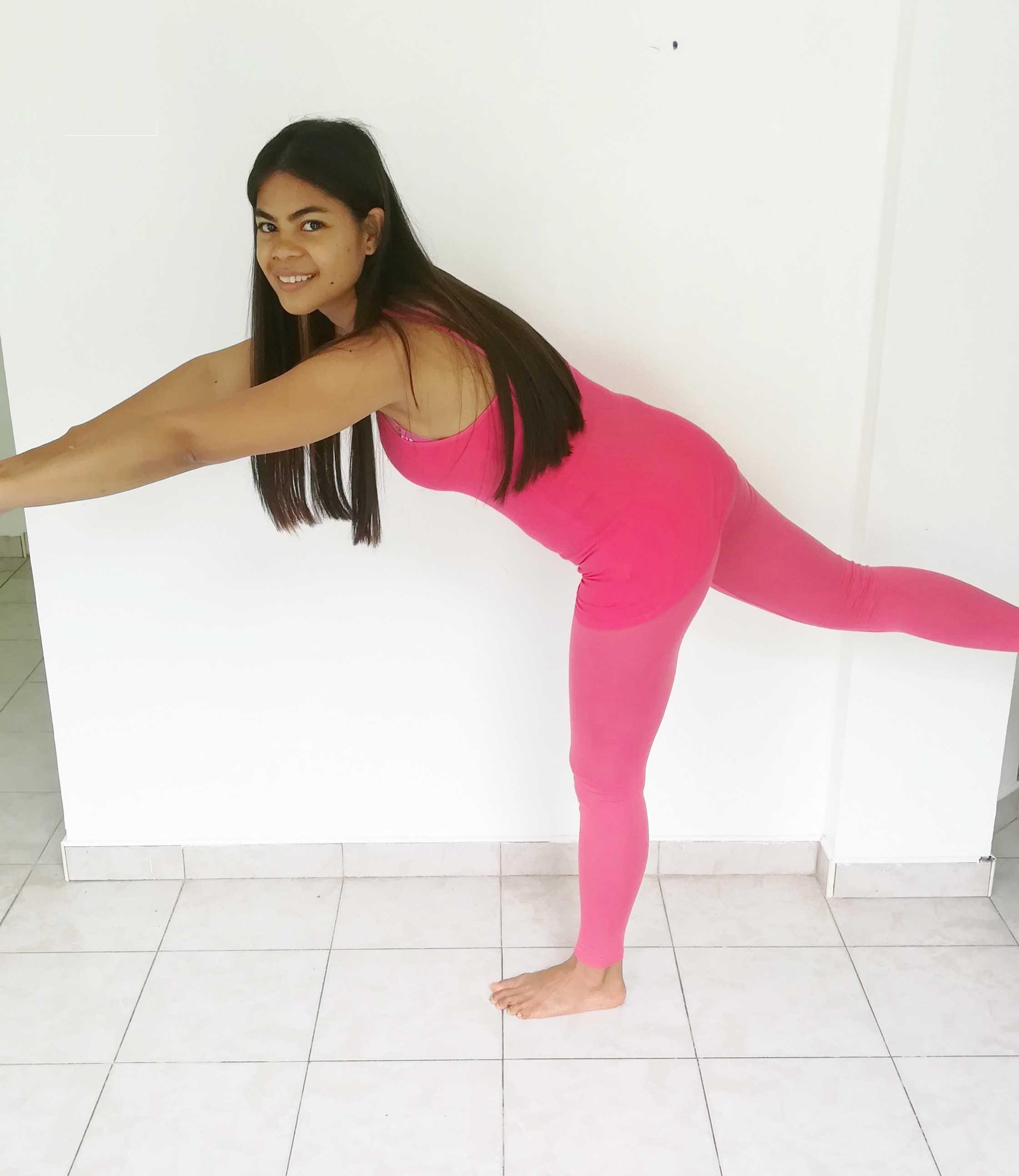 esercizio anca, equilibrio