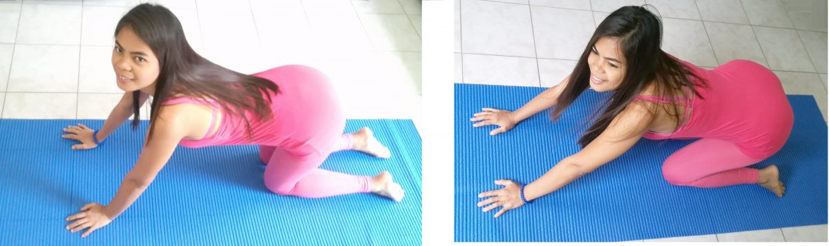 stretching estensori anca