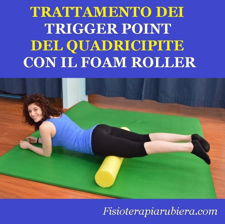 Foam roller quadricipiti