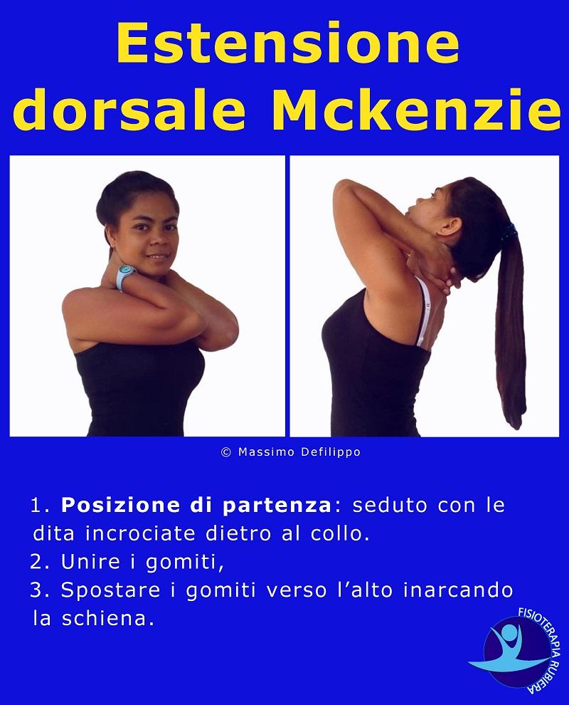 Estensione dorsale Mckenzie