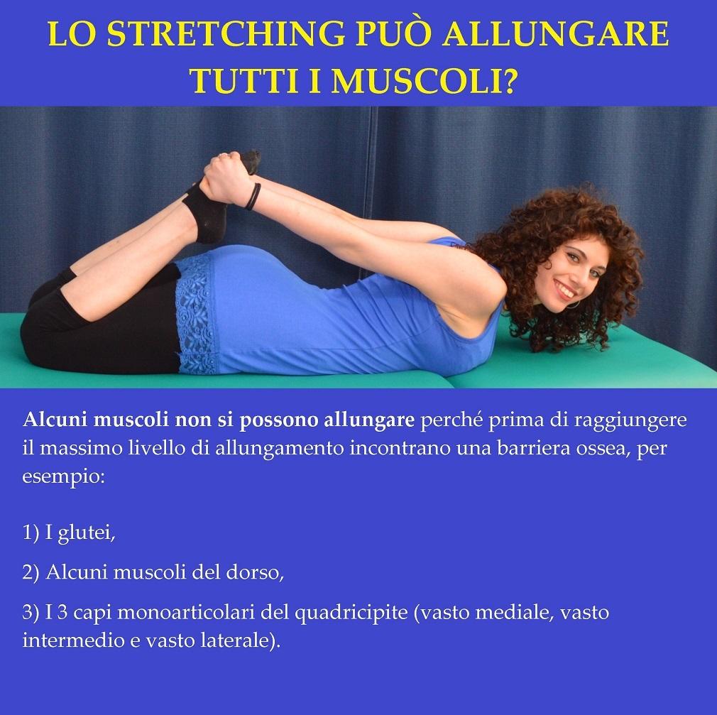 stretching, quadricipite, muscoli, non allungabili