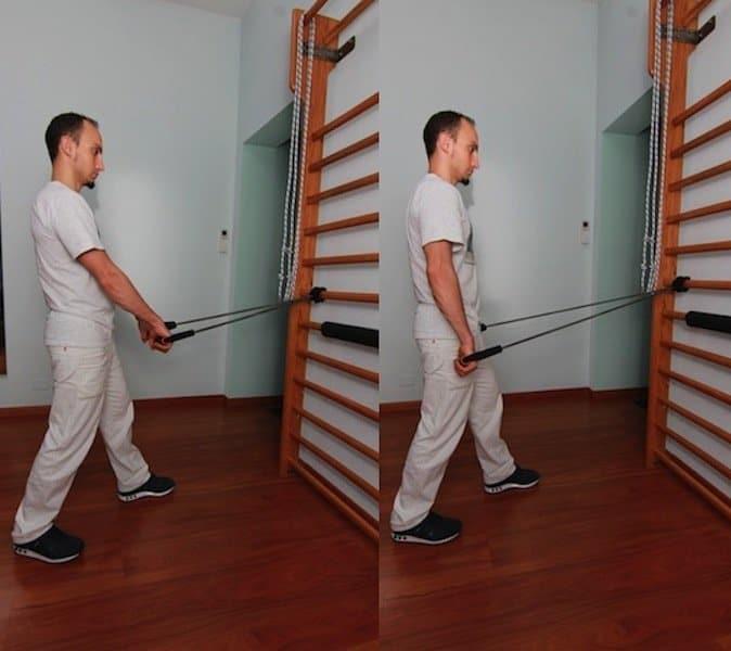 esercizi,romboidi,rafforzamento,scapola,equilibrio,muscoli,schiena