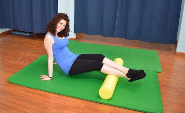 foam-roller-polpaccio, trigger point