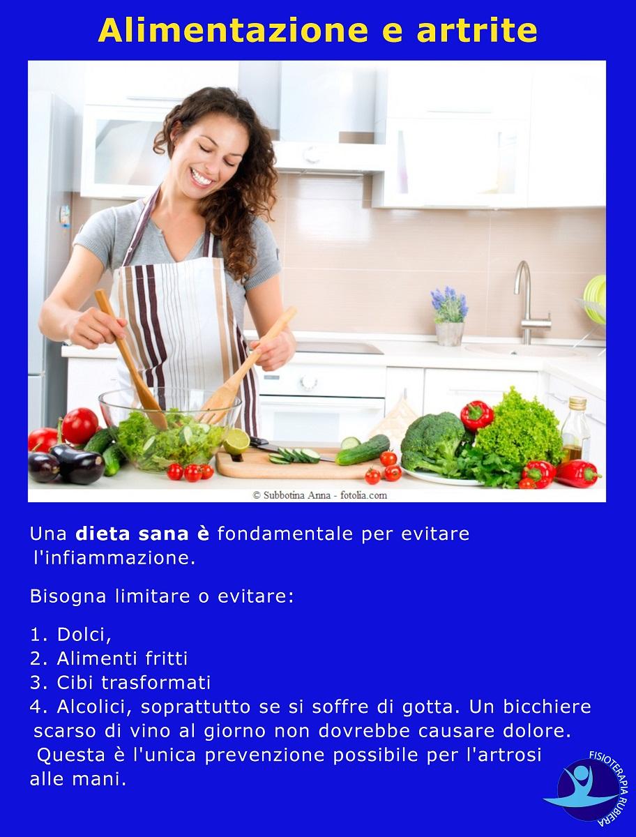 Alimentazione e artrite