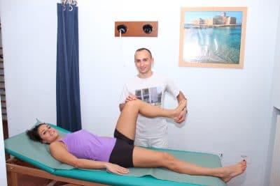 Riabilitazione post-intervento di protesi di ginocchio