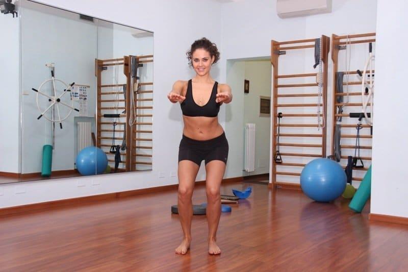 squat,pressa,rinforzo,quadricipite,ginocchio,riabilitazione,potenziamento,forza