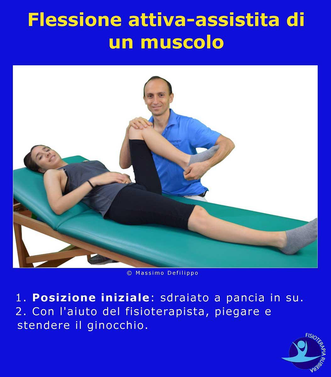 Flessione attiva-assistita-ginocchio